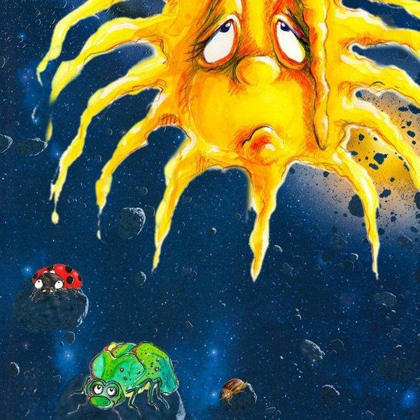 Die Geschichte von der einsamen Sonne