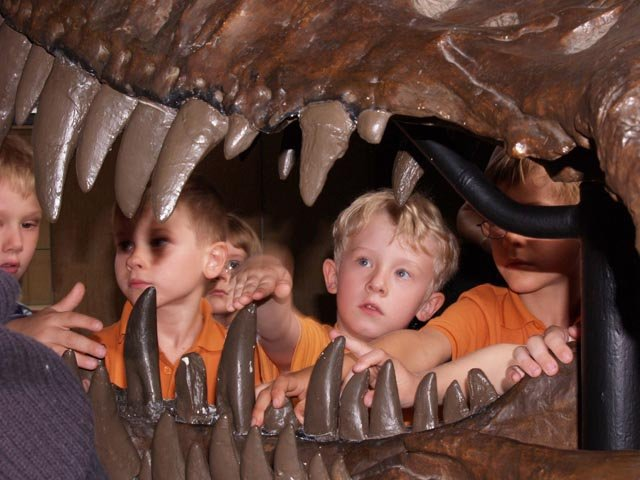Dinoforscher, Museum für Naturkunde Dortmund
