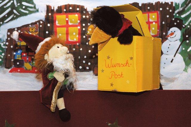 Flocke und der Weihnachtszauber - Märchenbühne