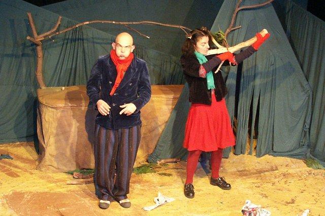 Weihnachtswald Theater Traumbaum