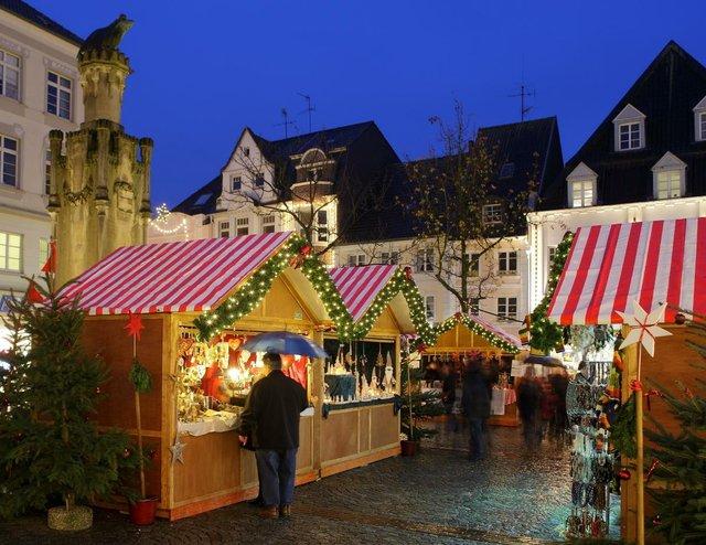Weihnachtsmarkt in Moers