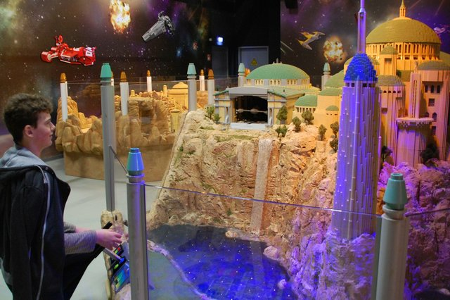 Lego Star Wars Miniland - LEGOLAND Discovery Centre