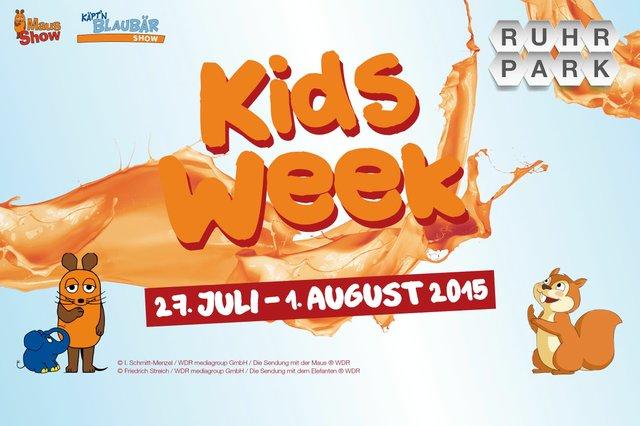 KidsWeek Ruhrpark 2015