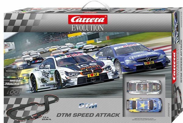 Carrera Evolution_DTM Speed Attack