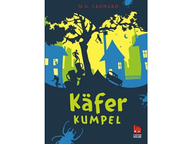 Buchtipp Käferkumpel, Cover