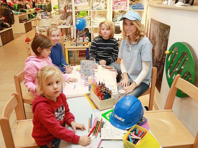Kinderwerkstatt, Modehaus Baltz