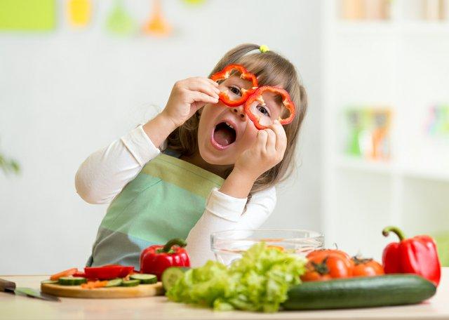 Kindern gesunde Ernährung beibringen