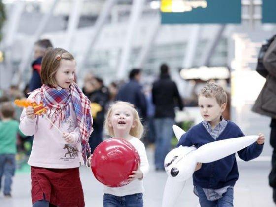 Familien-Airlebnis, Flughafen Düsseldorf