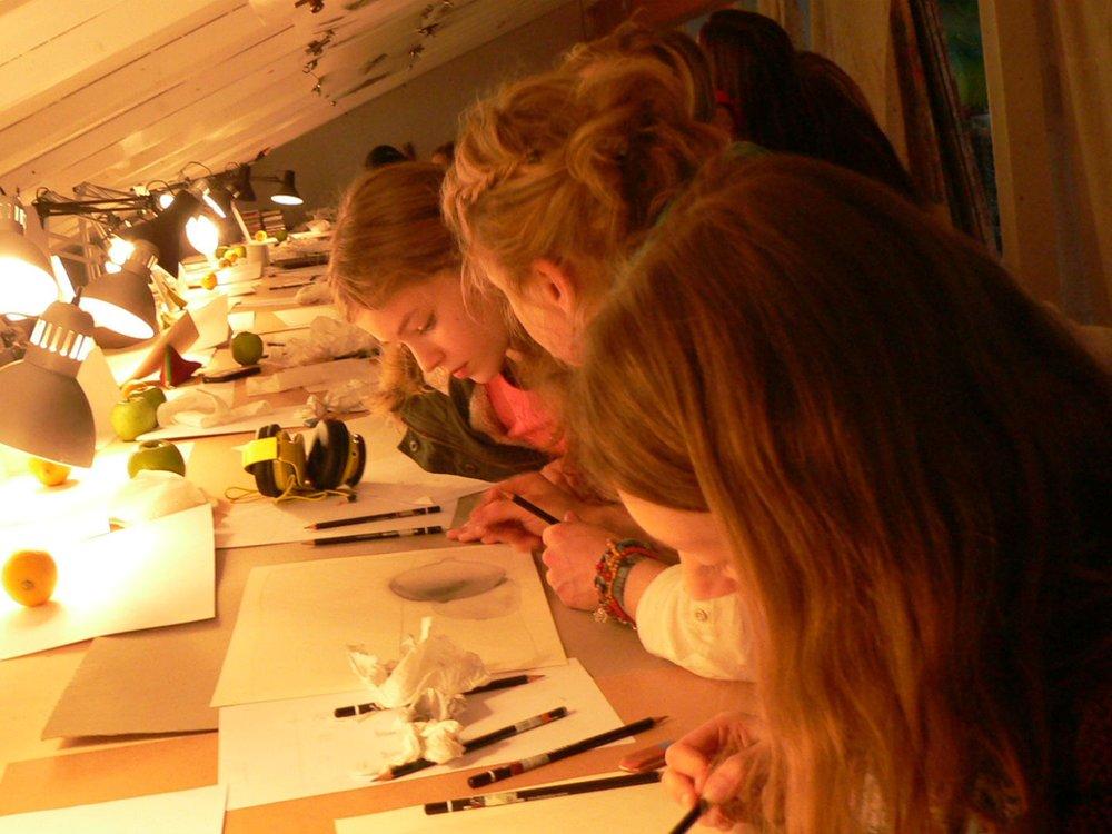 Zeichnen wie die Großen, Kunsthof Westerholt
