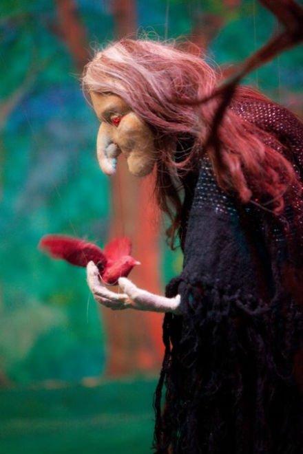 Jorinde und Joringel, Marionettenbühne Hurleburlebutz