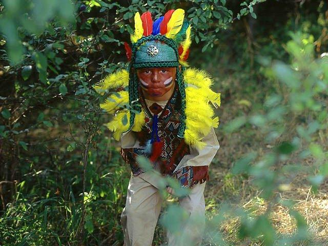 Indianerwerkstatt im Naturerlebnisgarten