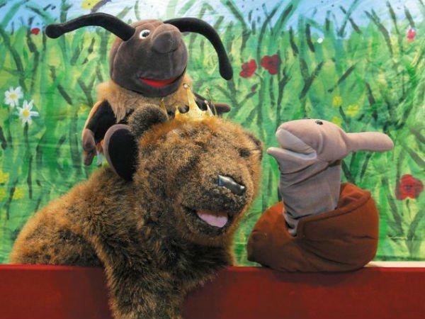 Ein Fest im Zauberwald, Märchenbühne