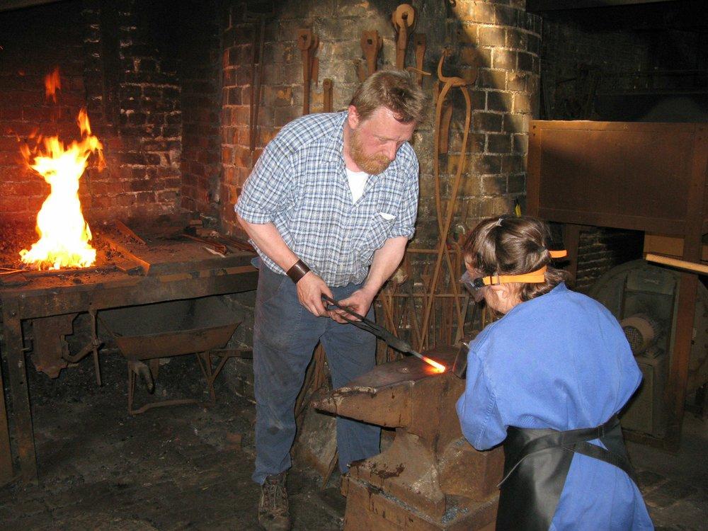 Schmiedewerkstatt, LVR-Industriemuseum
