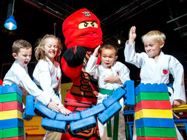 Ninjago, Legoland DiscoveryCentre