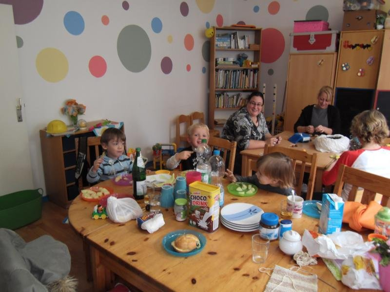 Offenes Mutter-Kind-Café