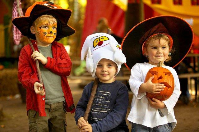 Halloween in Klein Zwitserland