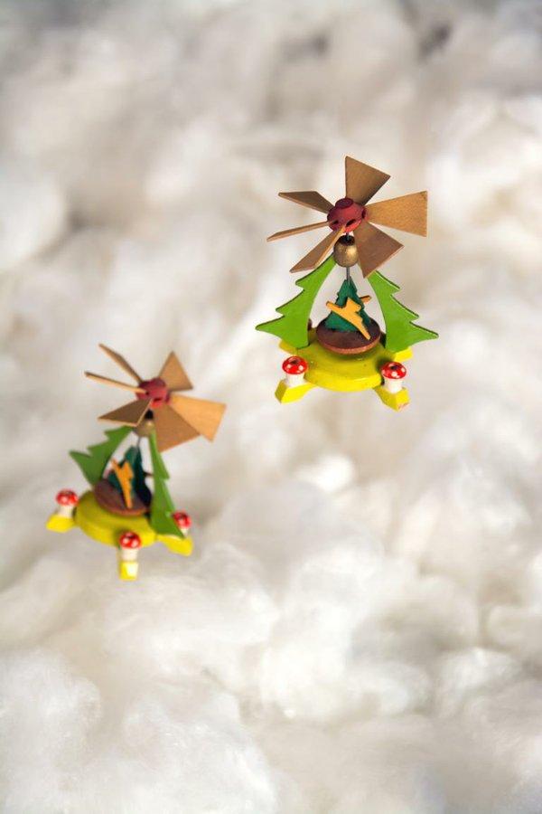 Wenn Pyramiden fliegen lernen