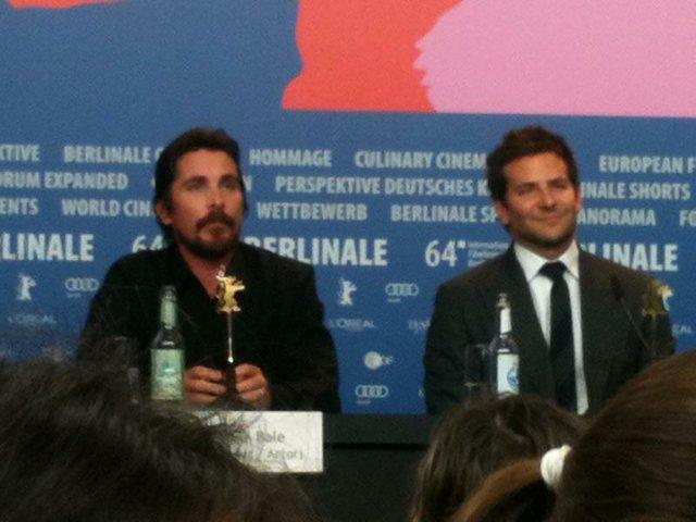 Tag 2- Christian Bale und Bradley Cooper.JPG