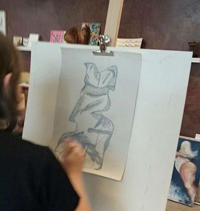 Kinder-Kunstwerkstatt