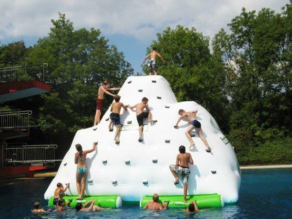 Freeclimbing-Eisberg
