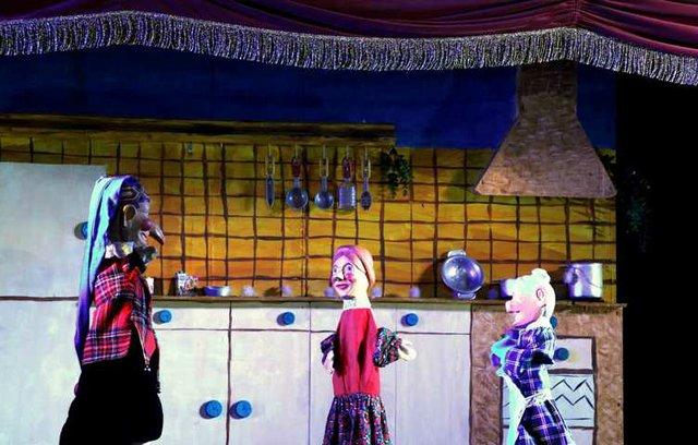 Halloween auf der Puppenbühne