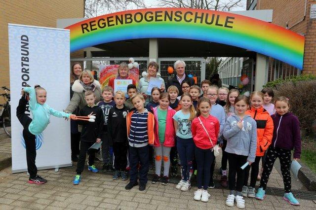 Sportliche Grundschule Regenbogen Schule