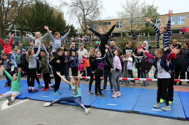 Sportliche Grundschule Regenbogenschule