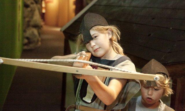 Robin Hood Armbrustschießen