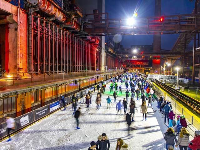 Zollverein-Eisbahn