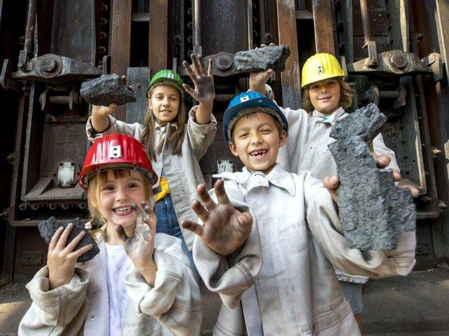 Über Kohle und Kumpel Zollverein