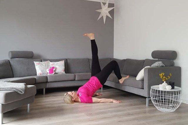 Laufmamalauf Wohnzimmer-Workouts