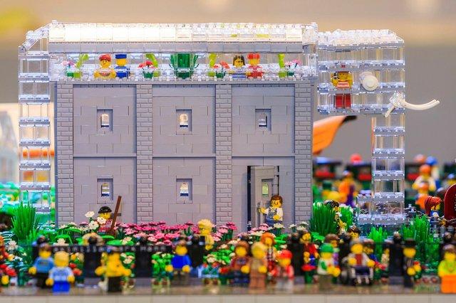 Lego Fanausstellung, Maxipark Hamm, Glaselefant
