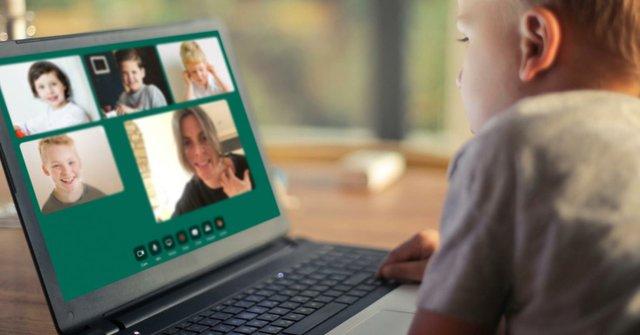 Kinder treffen in der virtuellen Kita Kids Circle