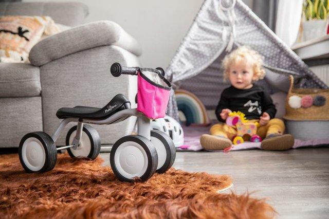 Kinderfahrräder, Rutscher