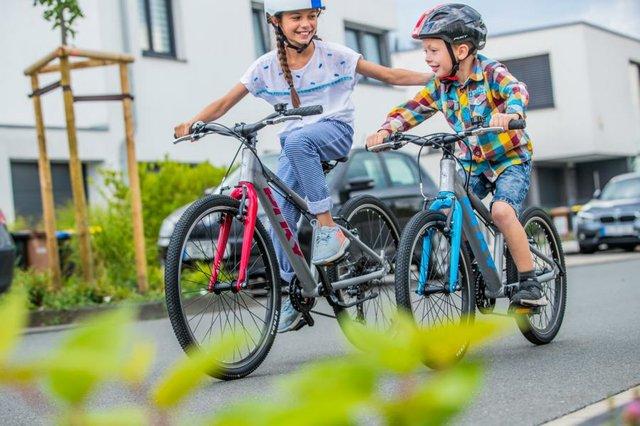 Fahrräder für den Schulweg