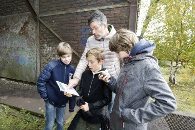 Tour de Ruhr GPS Schatzsuche im Landschaftpark Duisburg Nord