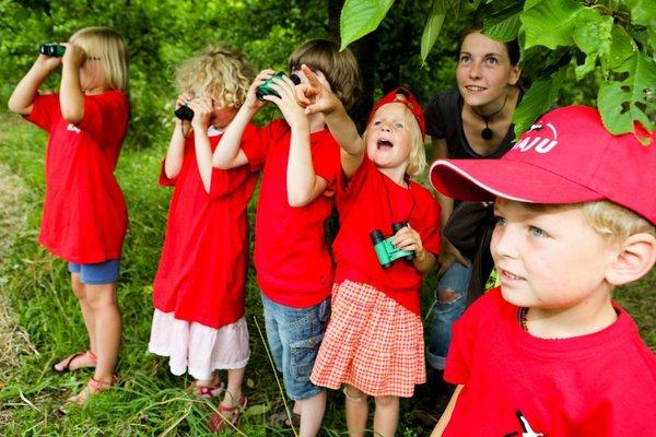 NABU Kindergruppe, Erlebter Frühling
