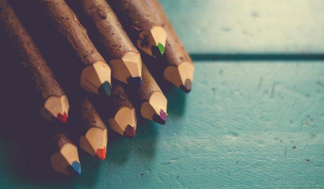 Buntstifte, Stifthaltung