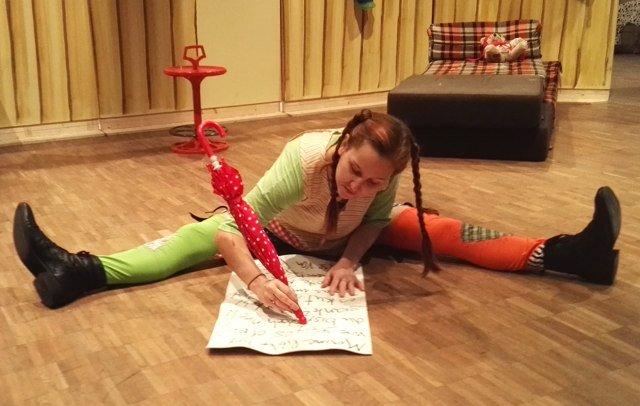 Pippi schreibt einen Brief