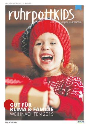 ruhrpottKIDS Ausgabe Dezember / Januar 2019/20