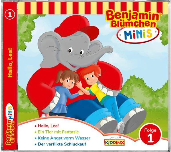 Gewinnspiel Benjamin Blümchen Minis