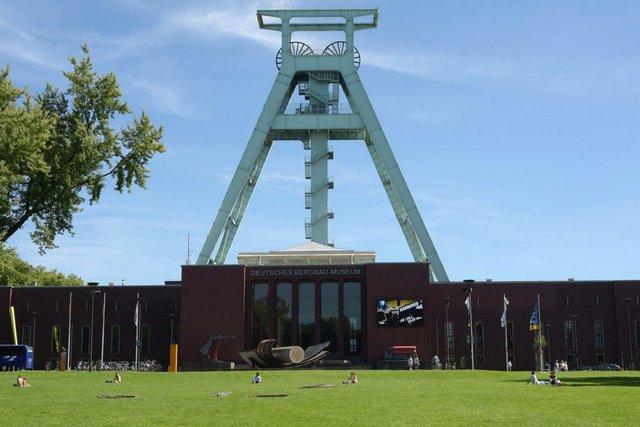 Fördergerüst des Deutschen Bergbaumuseums