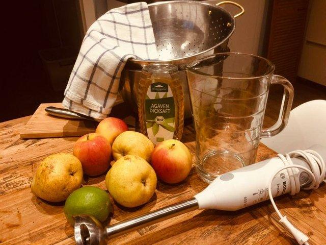 Apfel-Birnen-Limo