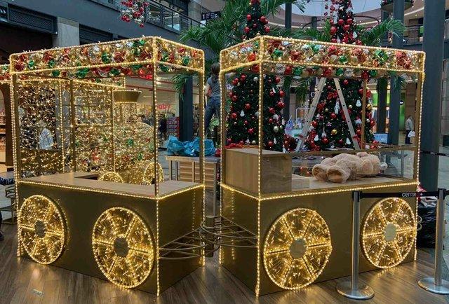 Weihnachten im Centro - Wunschzug