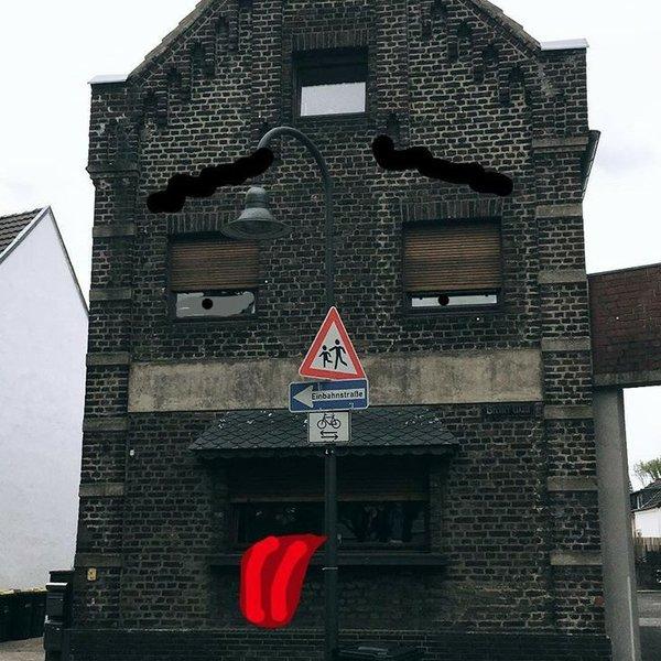 Gesichter in der Stadt