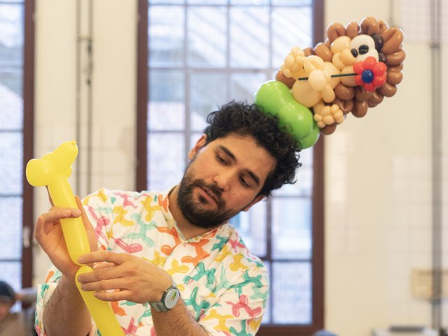 Ballonworkshop mit Hakan Eren