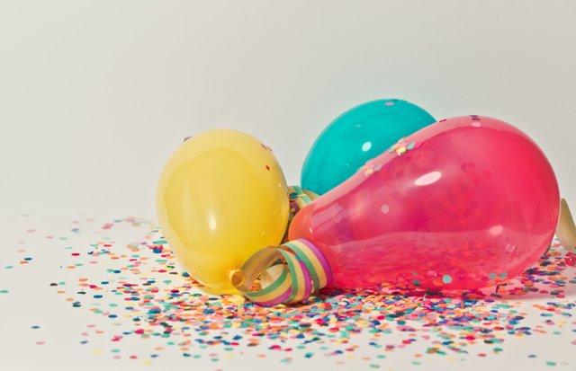 Partydeko für Karneval