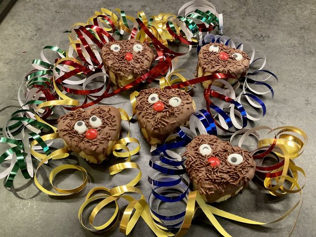 Monstergute Party-Muffins