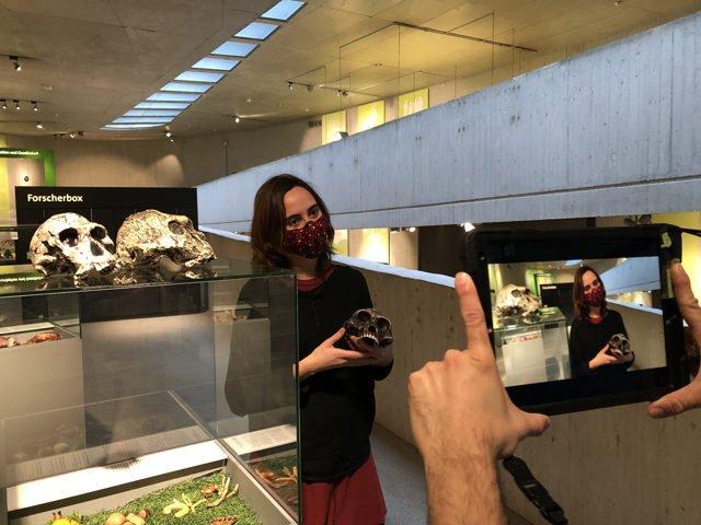 pädagogische Online-Live-Führung mit Museumspädagogin Meritxell Fernández-Coll