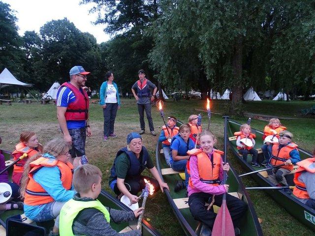Familien-Camp an der Loire, Ferien, Urlaub, Reisen